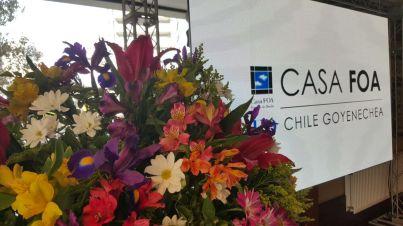 Anuncio llegada Casa FOA a Chile
